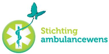 Logo stichting Ambulancewens