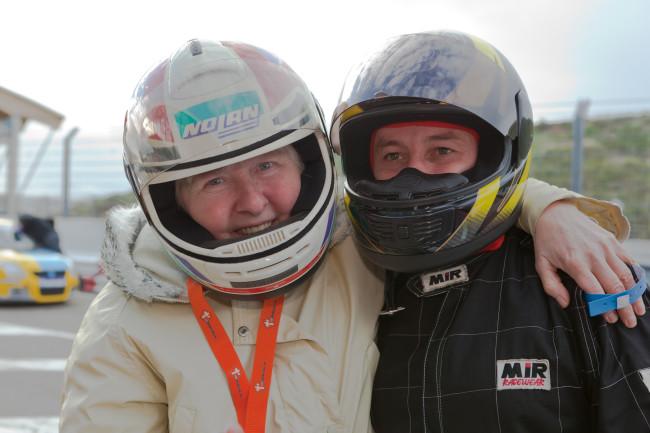 Marleen Wuyts (links) genoot ook bij de Schoonmoederdag!