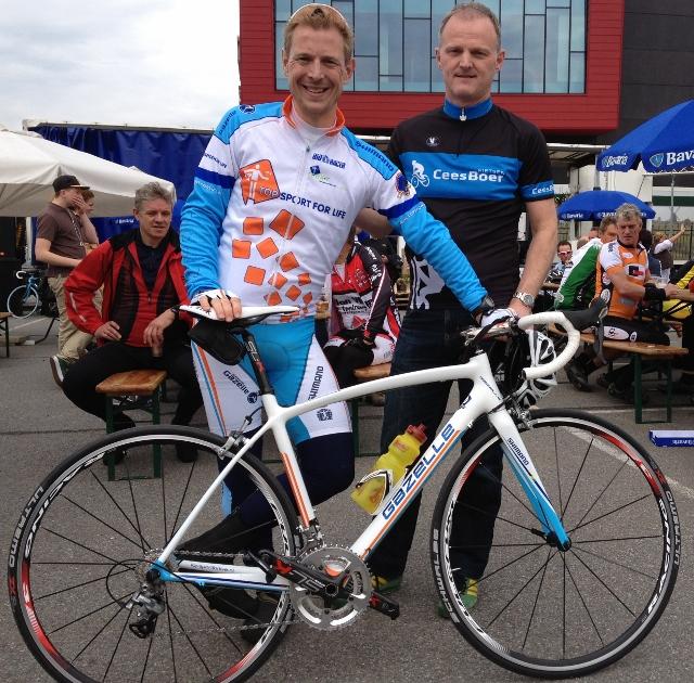 Gazelle fiets Jochem Uytdehaage
