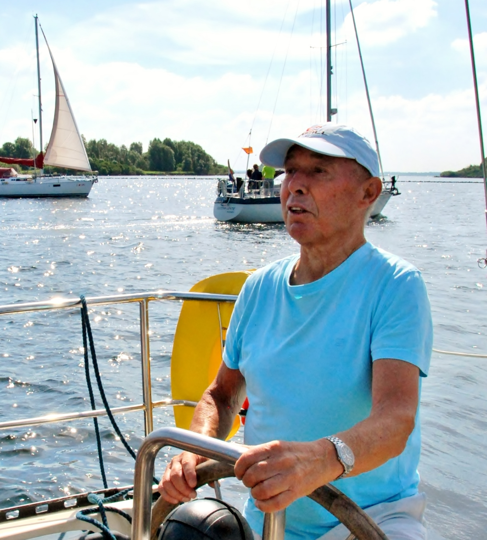 Topsport for Life - Jan Schouten - Samen Voor De Wind 2014