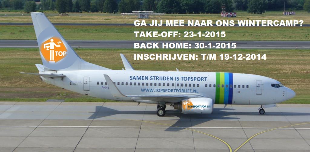 Topsport for Life - Vliegtuig 2015 - 02
