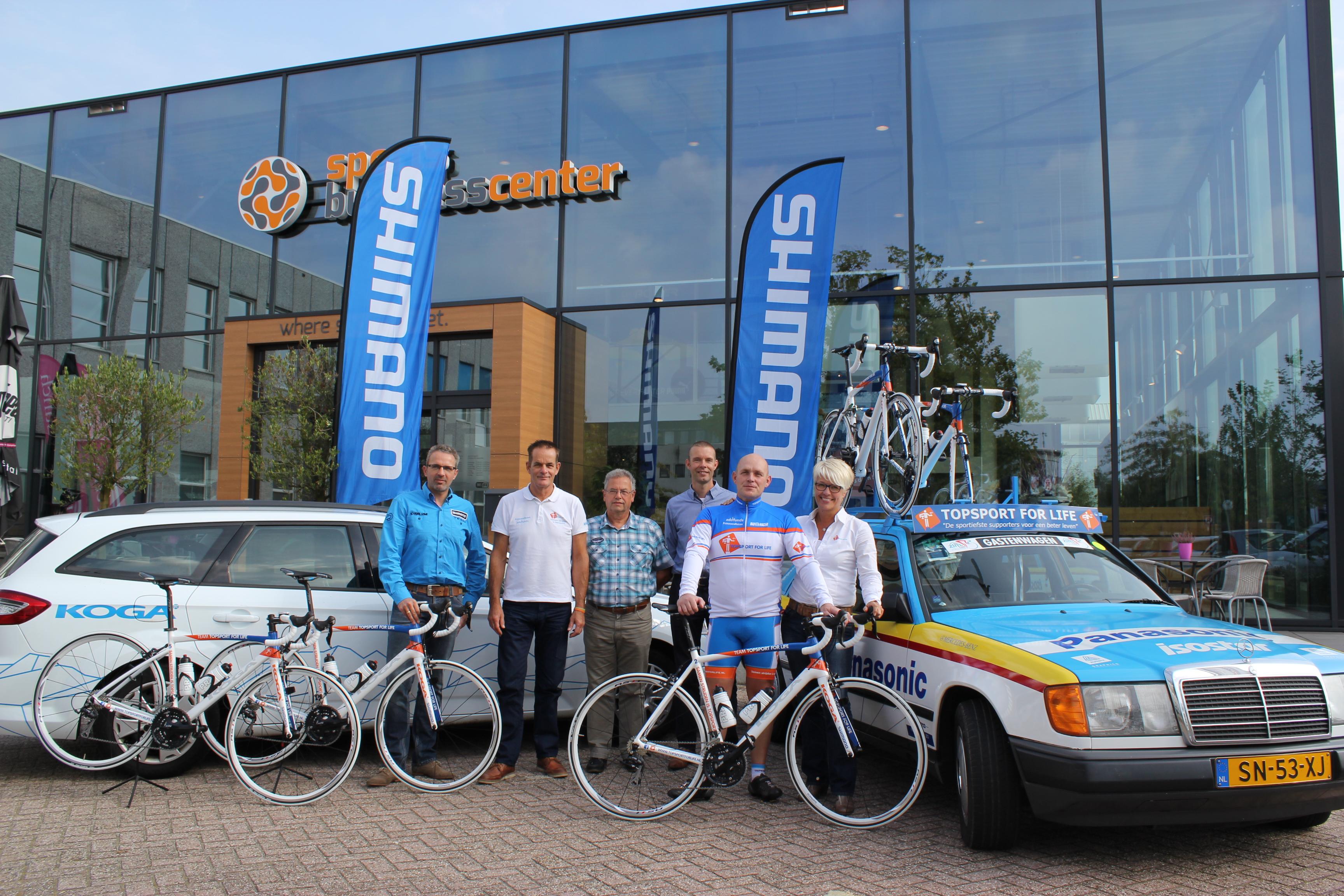 Topsport for Life - fietsenoverdracht - IMG_9307