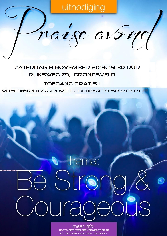 praise avond 8-11-2014 flyer