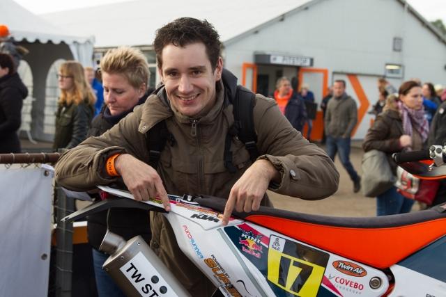 Ook Yannick Janssen, buddy bij Topsport for Life, is Fundrunner!