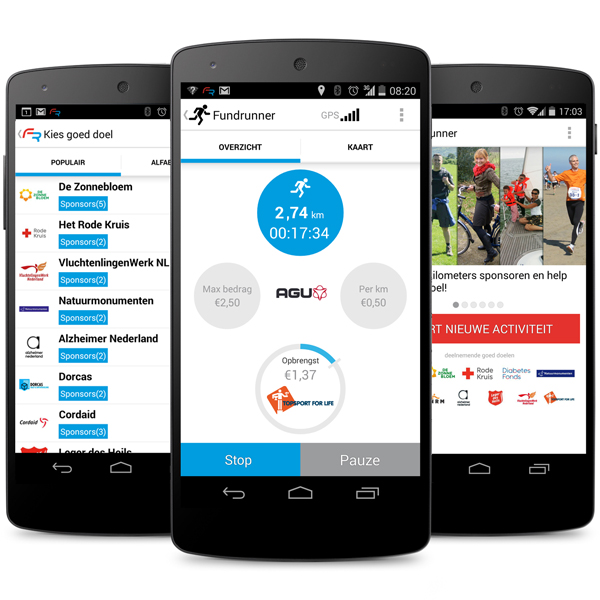 Topsport for Life - Fundrunner-Agu