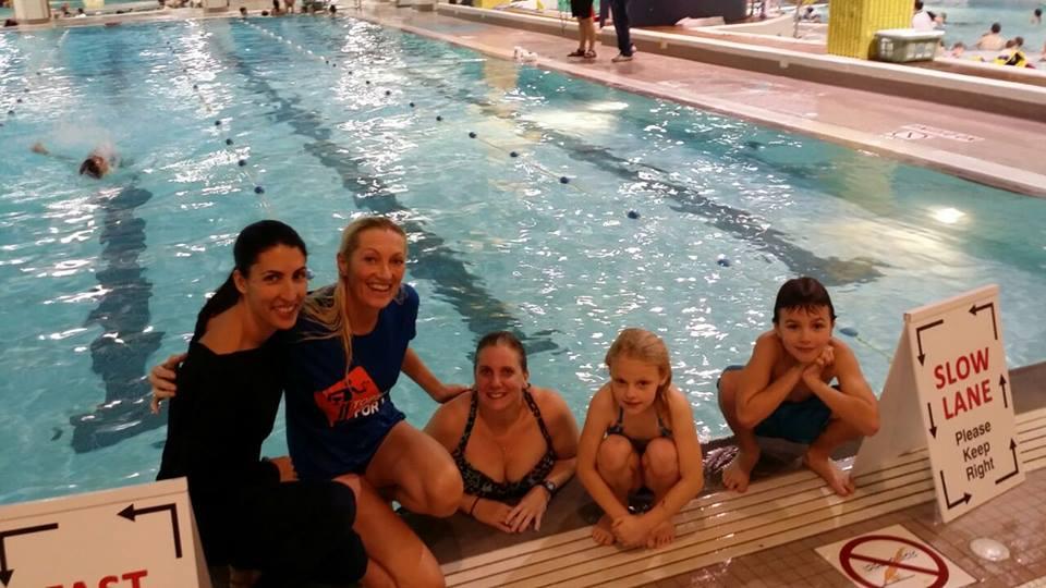 Jetty met Cami Nichols en Debra Douglas