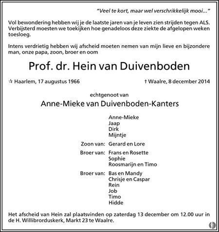 20141212 - Overlijdensbericht - 01