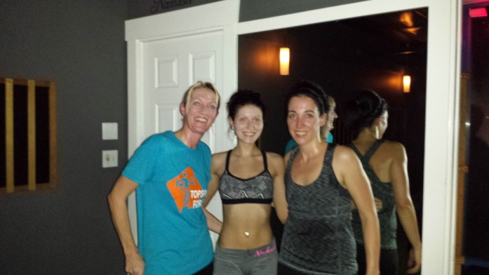 20141217 - Topsport for Life - Hot Yoga met Yolanda en Priscilla
