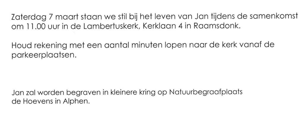 Topsport for Life - Rouwkaart Jan van Hemert - 03