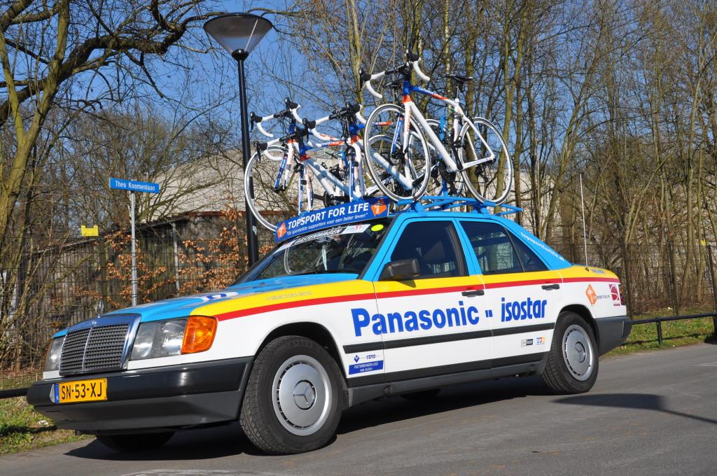 Topsport for Life - ploegleidersauto Panasonic-isostar