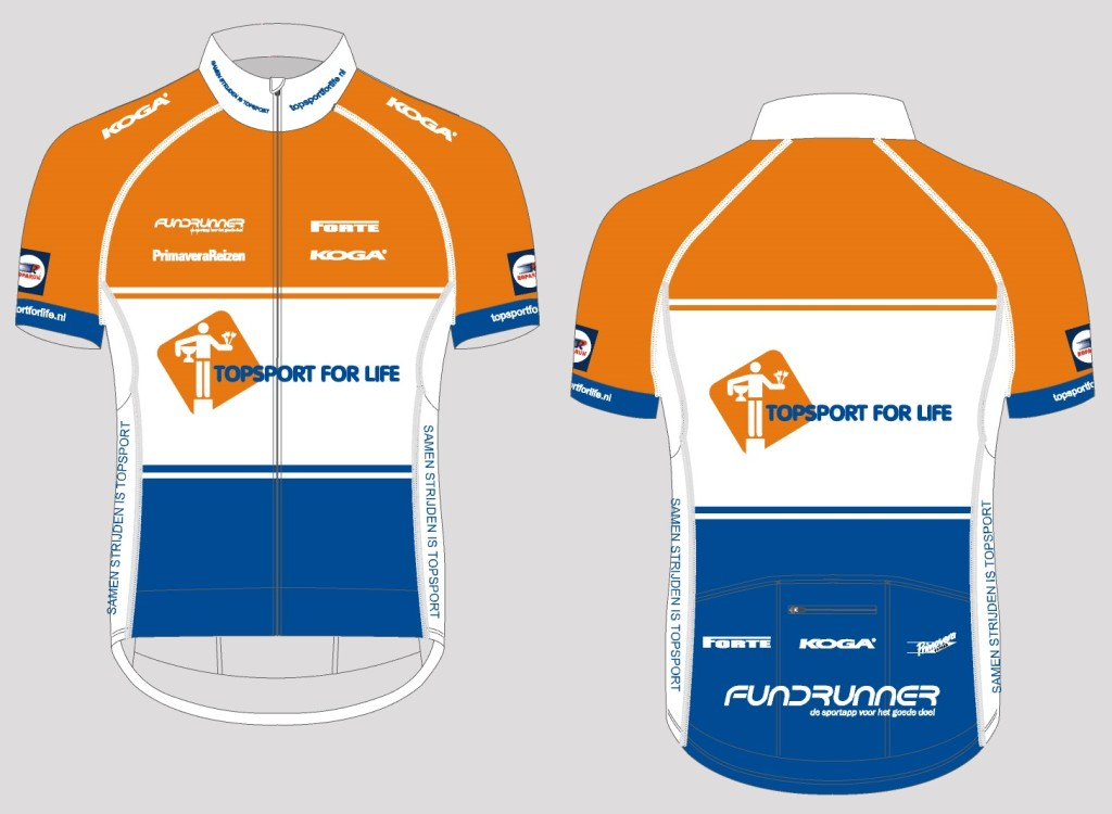 Topsport for Life - Wielershirt Pro 2015