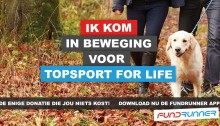 Topsport for Life - Fundrunner Campagne april 2016