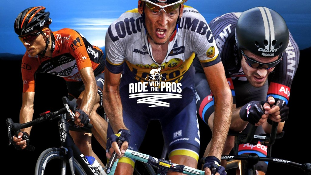 Topsport for Life - Ride with the Pros banner2