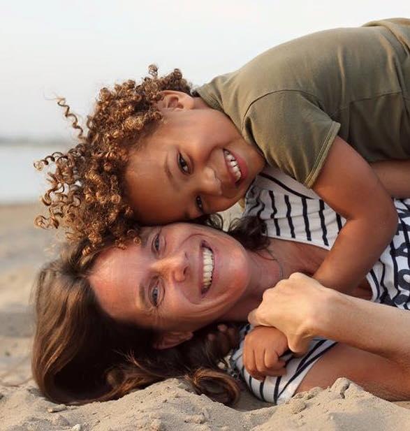 Topsport for Life - Esther van Santen en zoontje Jonathan