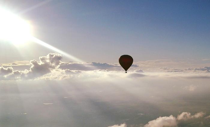 Topsport for Life - Ballon in de SKY