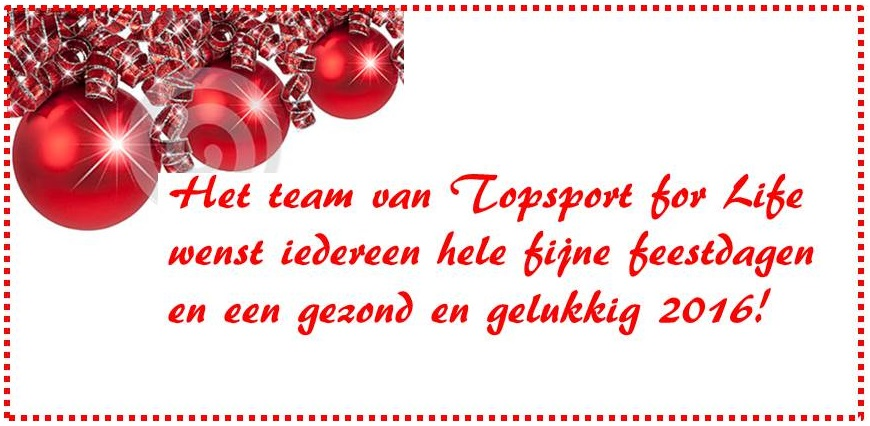 Topsport for Life - Kerst 2015