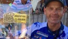 Topsport for Life - Jurgen winnaar Kistenklassement Dakar 2016