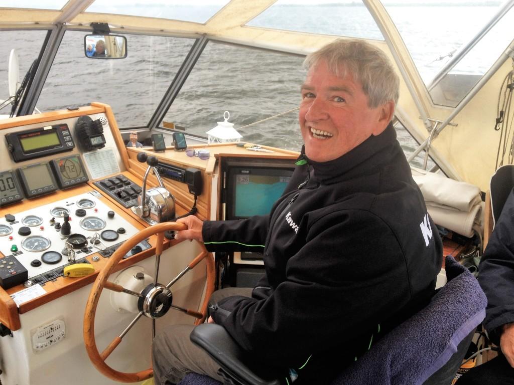 Topsport for Life - Herman Tiehuis bij Samen voor de wind 2015