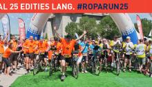 Topsport for Life - Banner Roparun 25 jaar