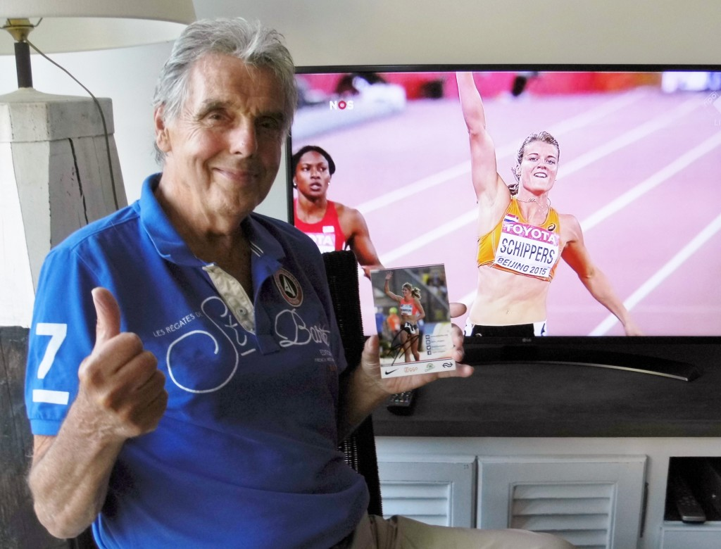 Topsport for Life - Jan Stol met kaart van Dafne
