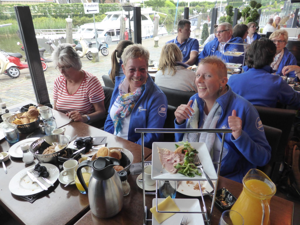 Topsport for Life - Samen voor de wind - een heerlijke lunch in Willemstad