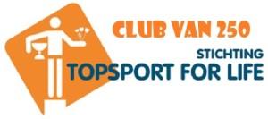 Topsport for Life - Logo Club van 250