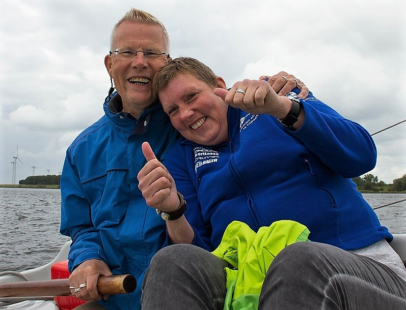 Topsport for Life - Anita van Beek - Samen voor de wind - juni 2015