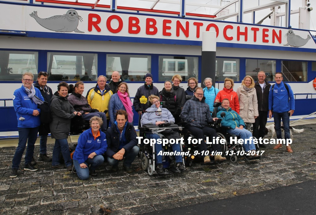 Topsport for Life - Groepsfoto Herfstcamp