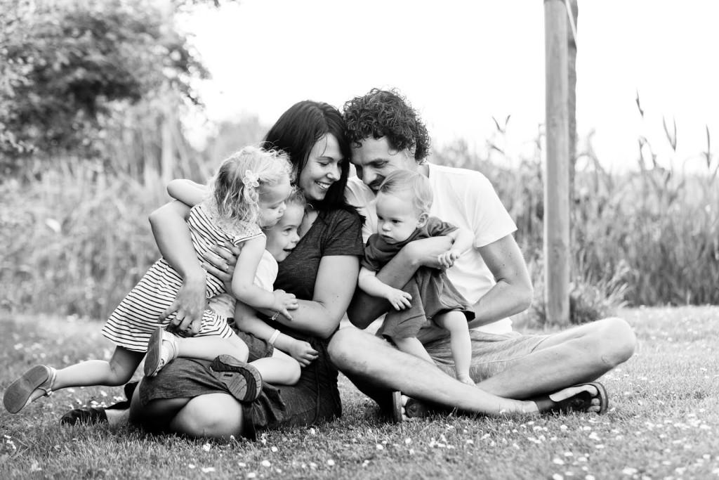 ALS-er Vincent met zijn gezin