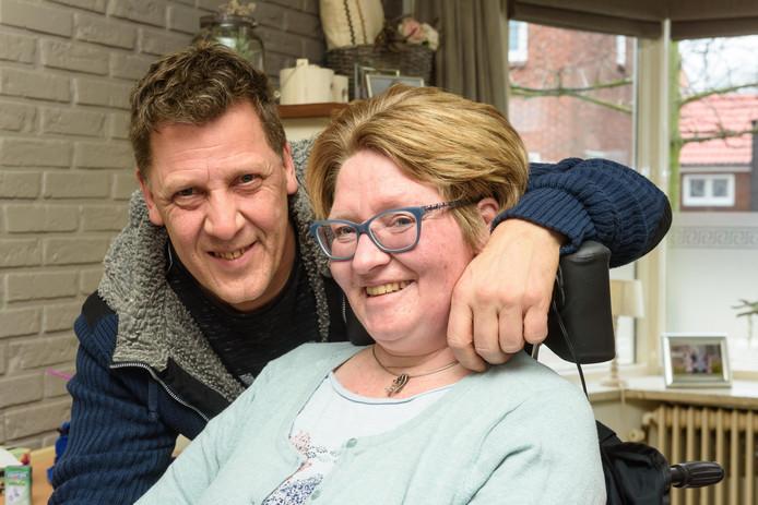 Ellen Koster en haar man© Christian van der Meij