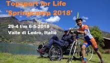 Topsport for Life - Springcamp 2018 Ledromeer