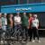 Overhandiging E-bikes door KOGA. V.l.n.r.: Marijke van Dijk (KOGA), Jannie Anema (gast TfL), Marlijn Colijn-Roius (gast TfL), Miel in 't Zand (vz. TfL), Harald Troost (KOGA), Ludo van Doorn (gast TfL), Nita van Vliet (TfL)