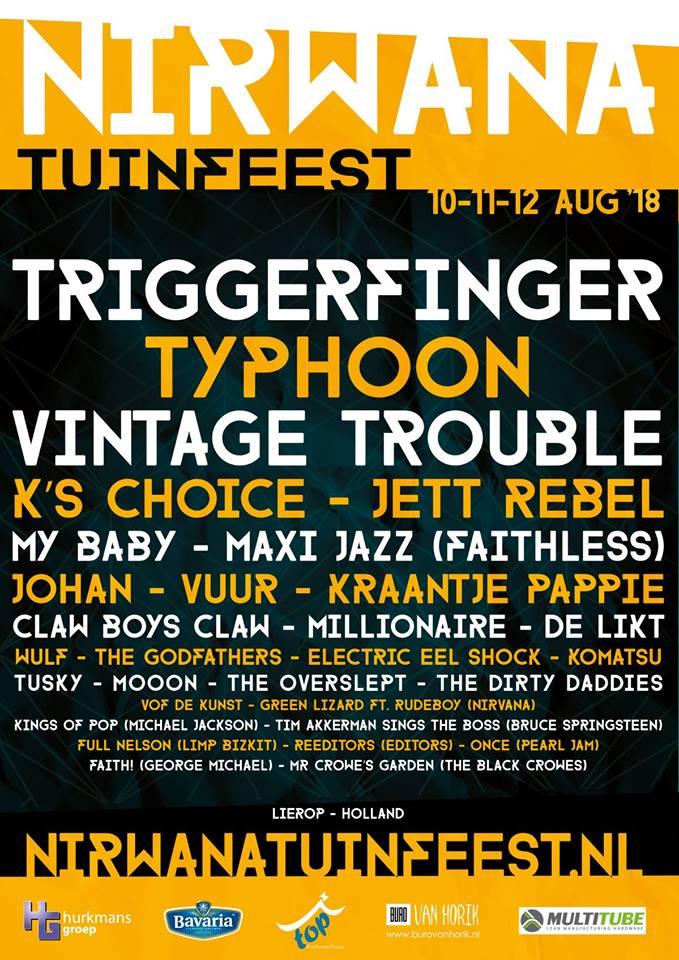 Topsport for Life - Poster Nirwana Tuinfeest