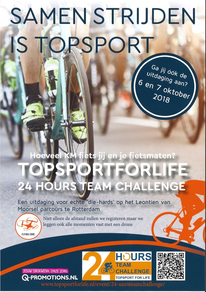Topsport for Life - Flyer 24hours TC 2018 - voorzijde
