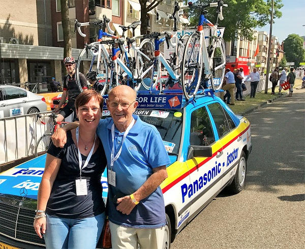 Frans Zondag met dochter Desiree - STER ZLM Tour 2017