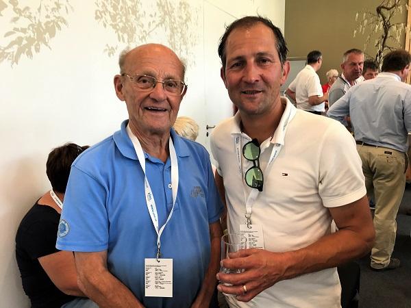 Frans met voormalig veelwinnaar en spinter Jeroen Blijlevens - STER ZLM Tour 2017