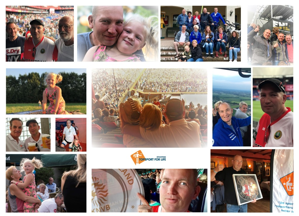 Topsport for Life - Fotocollage R. Turenhout