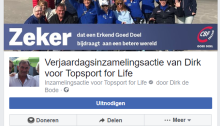 Topsport for Life - Inzamelingsactie