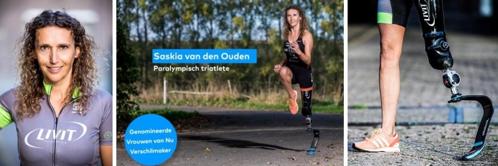Topsport for Life - Paratriatleet Saskia van den Ouden