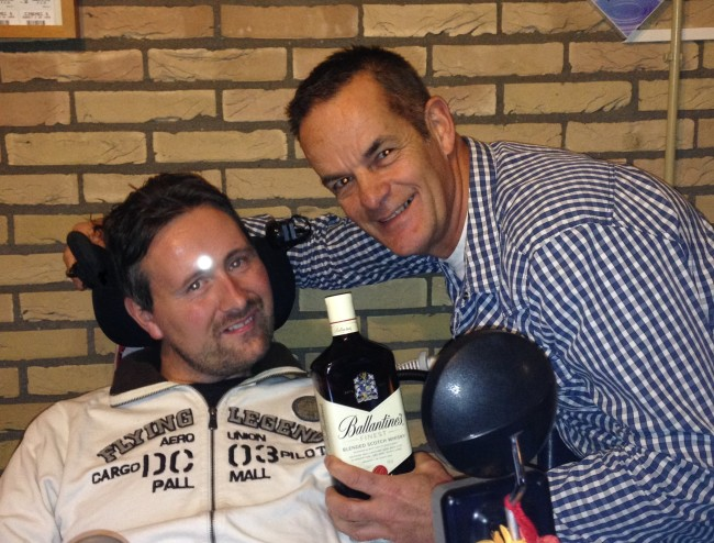 Topsport for Life - Ronnie en Miel aan de whiskey - IMG_6411 - kopie