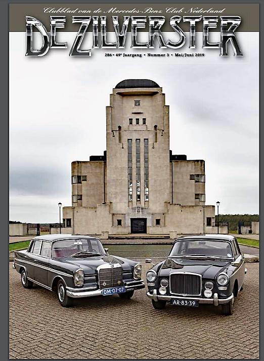 Topsport for Life - Voorkant MBCN clubmagazine De Zilverster