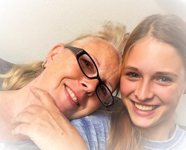 Topsport for Life - Marian Kleijn met dochter Jaiymy