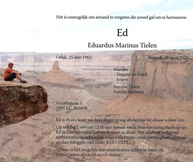 20200428 - Tekst van rouwkaart Ed Tielen - kopie