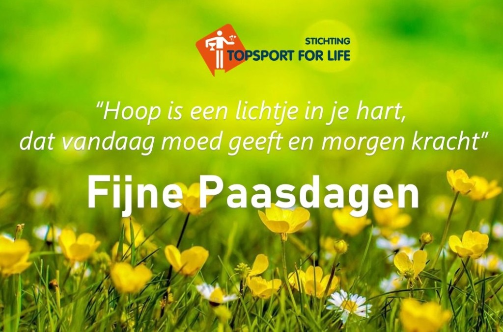 Topsport for Life - Paasboodschap 2020