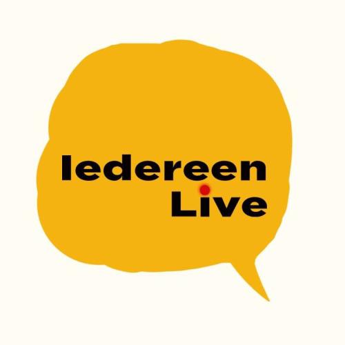 iedereen live logo