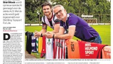 20200502 - Artikel over Voetbalshirtweek Eindhovens Dagblad