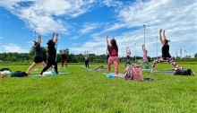 Topsport for Life - Yoga711 in 's-Gravendeel 21-6-2020 01