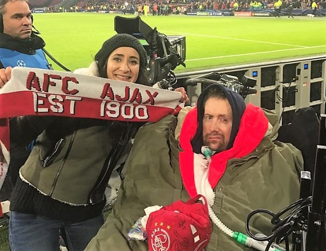 Samen naar Ajax-Real Madrid, februari 2019
