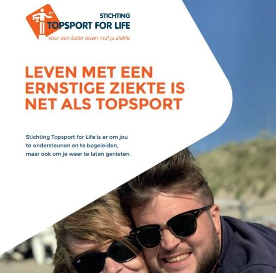 Topsport for Life - Voorzijde brochure 2020 - uitgelicht