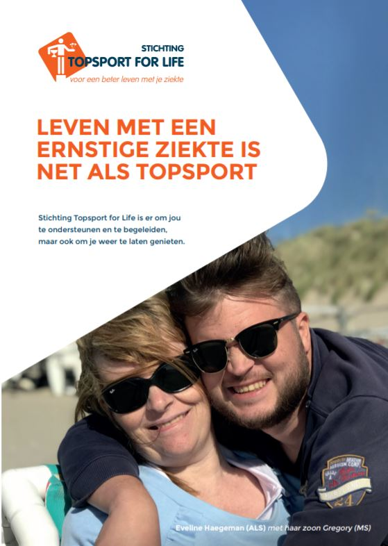 Topsport for Life - Voorzijde brochure 2020